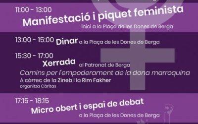 8 de març a Berga