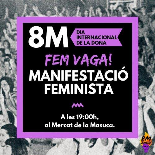 8 de març a Igualada
