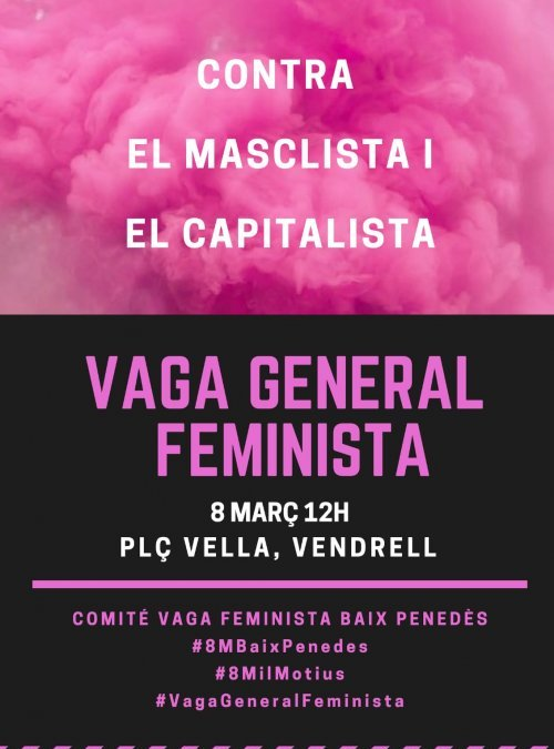 8 de març al Vendrell