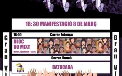 Tots els actes 8 de març