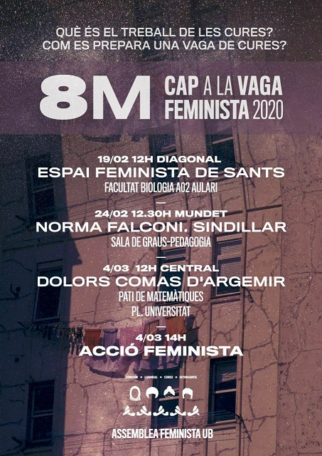 UB cap a la vaga feminista 2020
