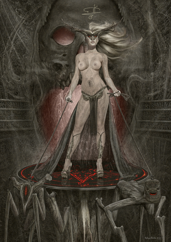 Princess  of Hell by Valery Petelin