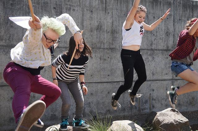 Rock 'n' Roll Camp for Girls. Foto: Susanne Christensen