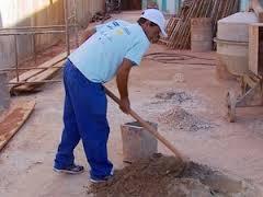 Vagas de emprego para Auxiliar de Pedreiro, Serventes