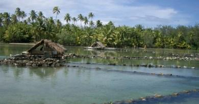 fishponds in Tahiti