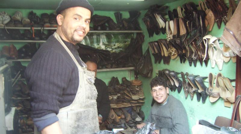 cobbler in Morocco