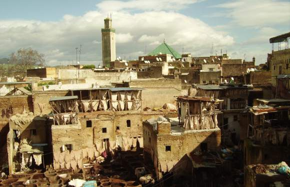 Traditional Houses in Fez – Riads, Dars, Palaces, and Caravanserai