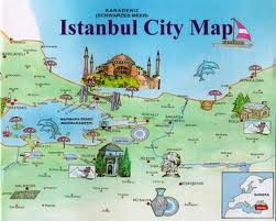 istanbul city map