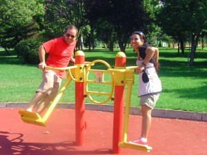 free gyms in Istanbul, excercise, travel