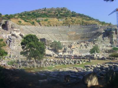 Great Theatre, Efes, Turkiya