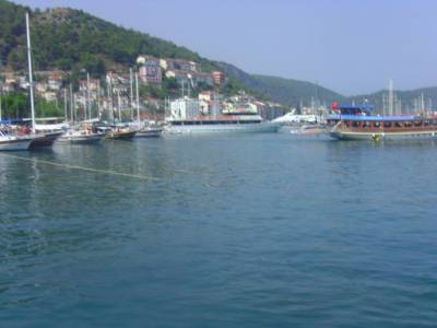 Fetiye Harbor, Mediteranean Port, Turkey