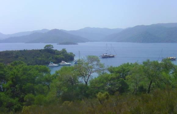 12 Islands Cruise in Fetiye, Turkey