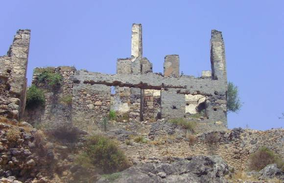 Kayakoy – Greek Ghost Town that Isn't Completely Deserted
