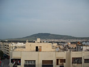 House in Fez, view from Fez Apartment
