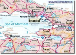 ferry to Yalova from Yanikapi, Bursa