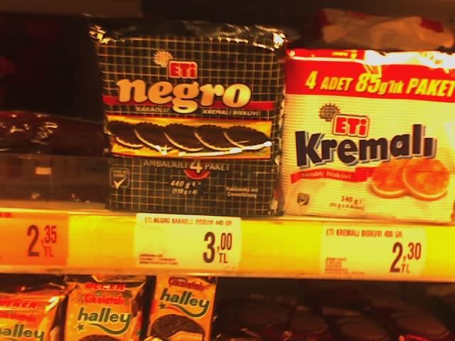 negro cookies in Turkey