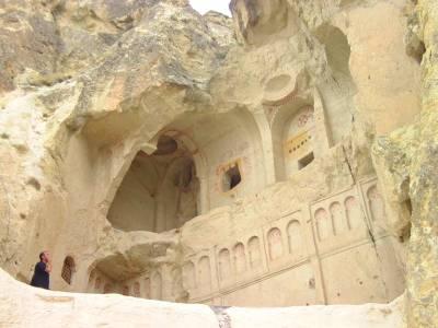 Turkey, Cappadocia, Goreme, Goreme Open Air Museum, Rock Cut Church