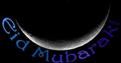 End of Ramadan, Eid Mubarak