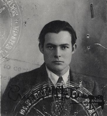 Vagabond Ernest Hemingway