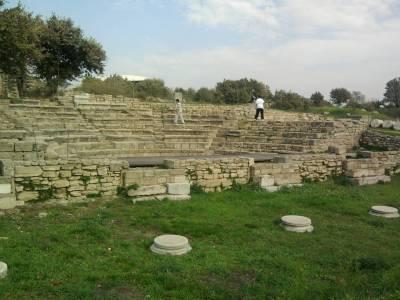 Turkish Ruins - Troia - Troy