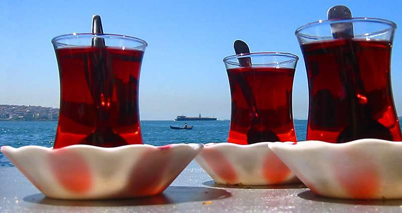 Turkish residence permit tea