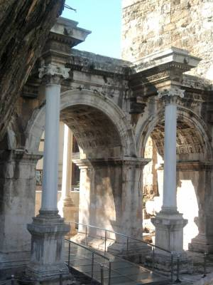 Gate of Hadrian Antalya