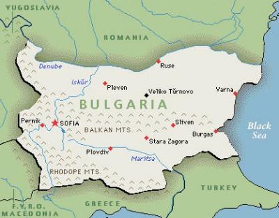 Bulgarian map