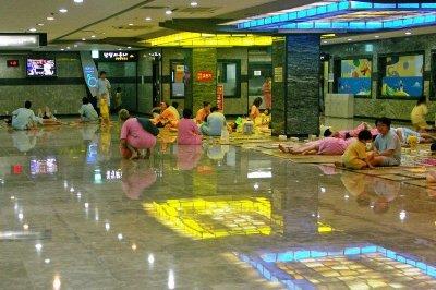 Korean bath house Jinjabong
