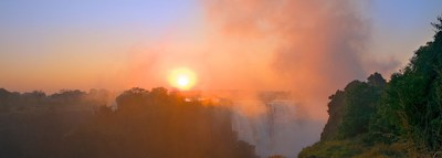 Victoria Falls at Sunrise
