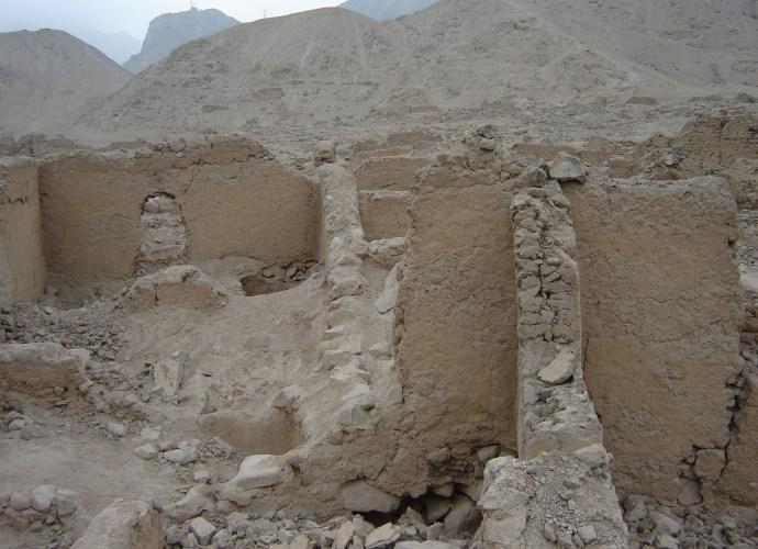 peruvian ruins