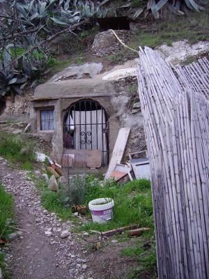 Cave Door in Grenada