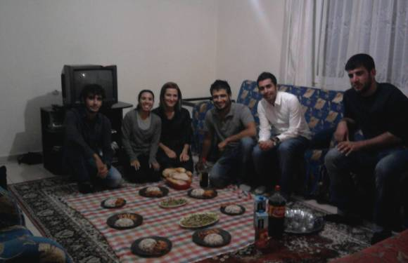 Turkish Guitar and Turkish Dinner with Friends