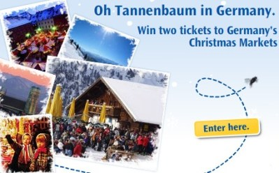 Win a trip for two to Germany