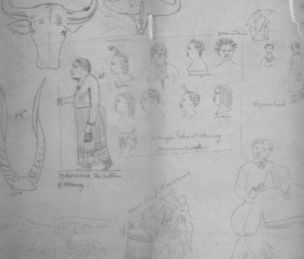 Drawings of John Henning Speke