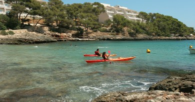 majorca sea kayaking