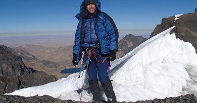 Dave Stamboulis Mountain climbing