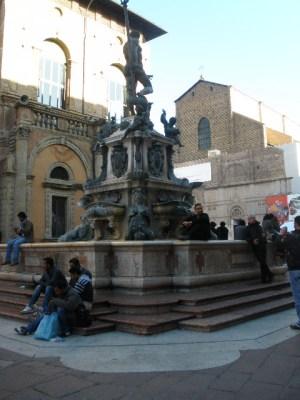 bologna, Italy Neptune statue