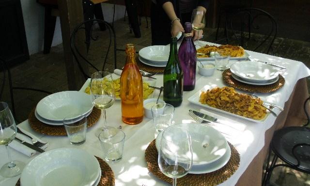 50 Special Vespas and Making Tortellini and Tagliatella in Bologna, Italy