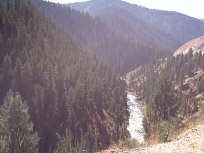 Idaho scenery bike trip