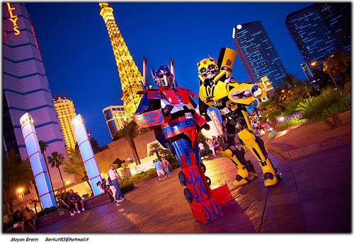 Robots in Vegas cc Image courtesy of Moyan_Bren on Flickr