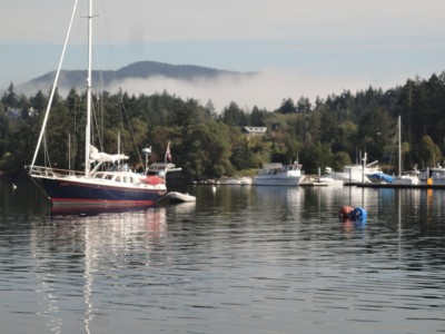Cruising in the San Juan Islands, Washington