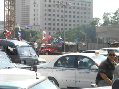 Flags in Egypt