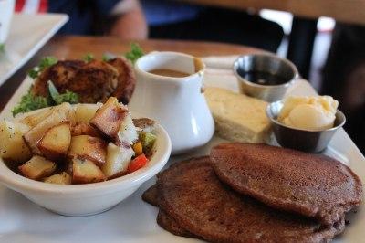 Another Vegan Breakfast in California