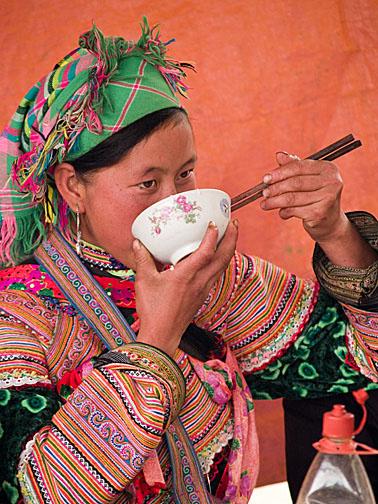 Flower Hmong of Bac Ha