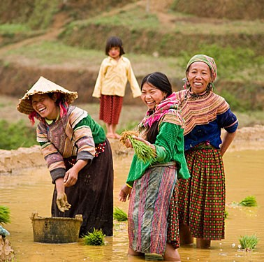 The World Through a Photographer's Lens:  Northern Vietnam ethnic minority groups