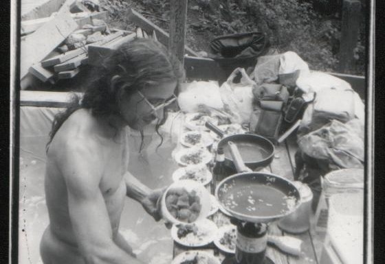 Shrooming with The Naked Gourmet at Scenic Hot Springs near Seattle