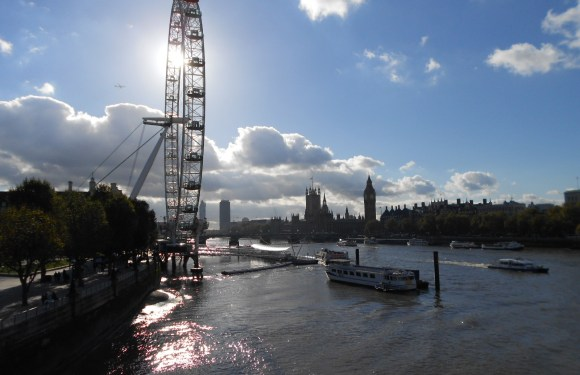 The London Eye – Thames River View