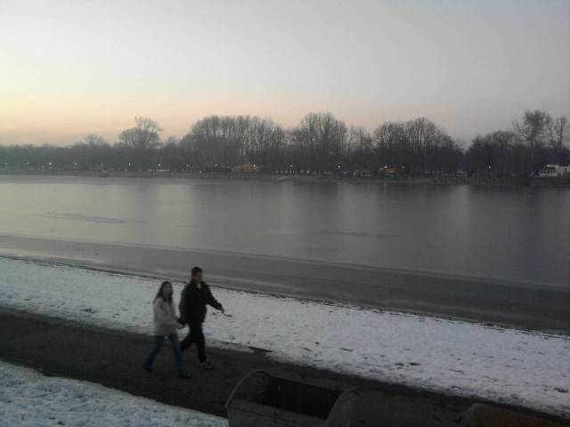 Grey Danube Stroll - Belgrade
