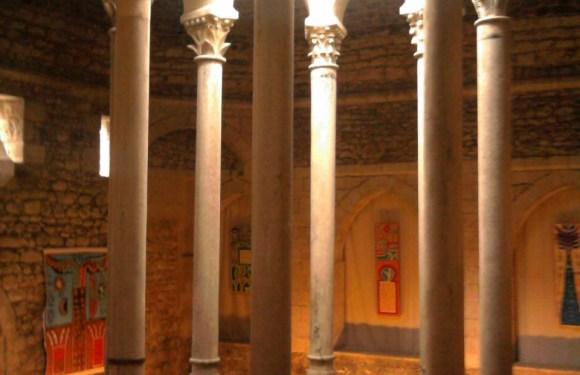 Arab Baths in Girona, Spain
