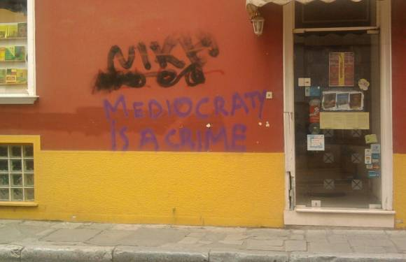 Mediacraty is a Crime – in Greece